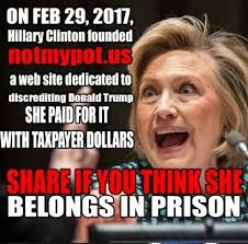 Website Meme - hillary clinton starting anti president donald trump website with