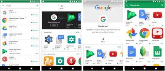 new play store apk play store apk update with new visual tweaks adjustable search