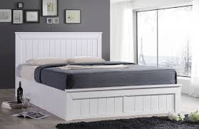 sweet dreams chandler 4ft6 double storage ottoman bed white ebay