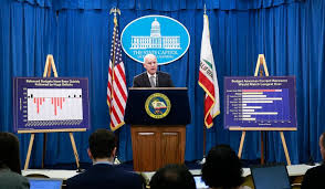 new york times report reveals california today jerry brown warns of recession and reveals his