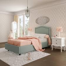 Kids Fabric Headboard by Elegance Upholstered Kids Bed Amisco Canada Italmoda Furniture