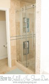The Shower Door How To Install A New Shower Door
