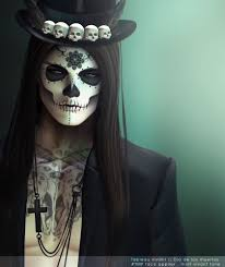 Easy Halloween Makeup For Men by Dia De Los Muertos Makeup Man Beard Google Search Cloths