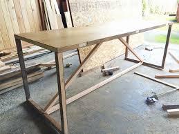 Door Desk Diy Diy Desk From Hallow Door More Wonderful Diy Ideas