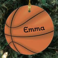 sports tree ornaments baseball basketball football