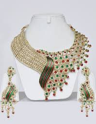 bridal indian necklace set images Designer indian wedding jewelry set online shopping shop for jpg