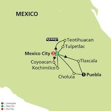Teotihuacan Map Mexico U0026 Our Lady Of Guadalupe
