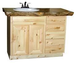 Pine Bathroom Furniture Knotty Pine Vanity Pine Bathroom Vanity 2 This Is A 48 Pine