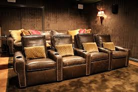 home theatre seating home theater traditional with upholstered