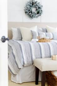 cozy neutral christmas bedroom a burst of beautiful