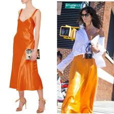 satin bias tibi dresses skirts amoret satin bias slip dress party chic