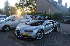 gold bugatti chiron spotted a bugatti chiron on a parking lot album on imgur