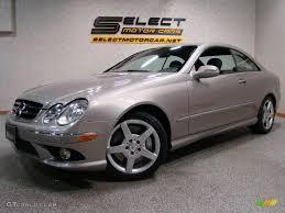 2006 pewter metallic mercedes benz clk 500 coupe 11976109