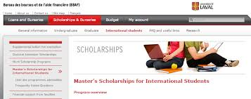 bureau international université laval master s scholarships for international students armacad