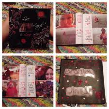 photo album i made my boyfriend it u0027s a great diy gift for
