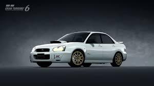 subaru sedan 2004 subaru impreza sedan wrx sti spec c type ii u002704 gran turismo 6