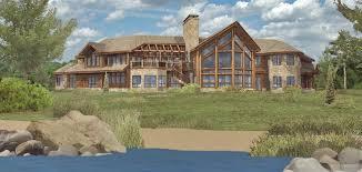 large home floor plans large log house plans home deco plans