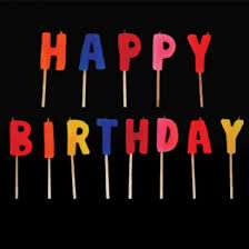 happy birthday candle happy birthday candle set