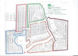 Map Of Davenport Florida by Citrus Ridge Neighborhood Association Citrus Ridge Map