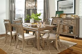 contemporary rustic dining room tables 6 black steel chairs have 3