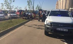 intelligence bureau sa three wounded at mall of africa all 4