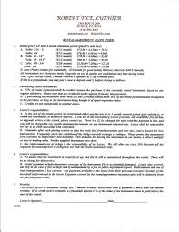 Free Residential Lease Agreement Templates Apartment Rental Contract Template