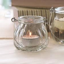 glass tea light holders small glass tea light holder with handle wedlock shop