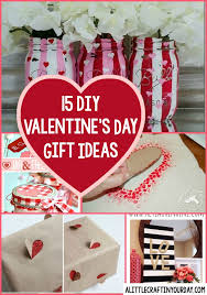 ideas for s day gifts diy valentines day gift ideas a craft in your day