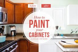 cabinets paint how to paint wood kitchen cabinets with white paint kitchn