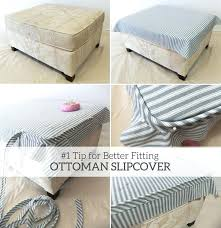 Covers For Ottomans Ottoman Covers Ottomans Cube Ottoman Cover Slipcover Pattern Fit