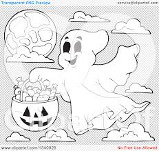 happy halloween pumpkin clipart black and white free clipground
