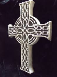 celtic cross wall hanging large celtic cross wall hanging black pagan plaque