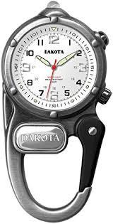 amazon com dakota miniclip microlight led clip watch antique