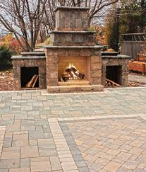 Hearth And Patio Richmond Va by The Willow Creek Ledgestone Fireplace Kit Is A Stunning Feature