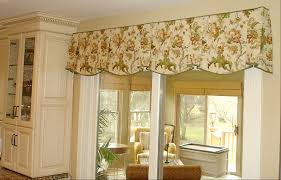 Swag Curtains With Valance The Debate Is On Do I Put A Valance Over The Sliding Glass Door