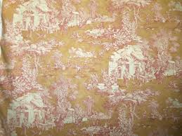 Pink Home Decor Fabric Home Decor Pink Toile Fabric By Yard Toile Decorator Fabric Toile
