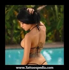 trashy lower back tattoos