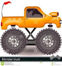 monster trucks clipart monster truck stock vector image of fire extreme rubber 34072078
