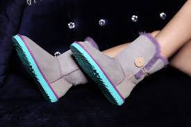 ugg boots sale nottingham shop damen ugg bailey button 5803 grau lila blau