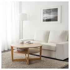 vejmon coffee table oak veneer 90 cm ikea