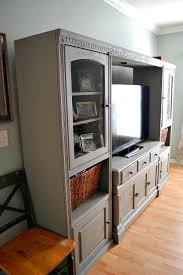 best 25 painted entertainment centers ideas on