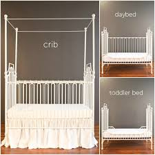 Venetian Crib Bratt Decor Parisian 3 In 1 Crib Distressed White