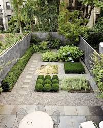 contemporary landscape and yard with stepping pavers u0026 garden