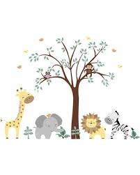 Safari Nursery Wall Decals New Shopping Special Nursery Wall Decals Baby Room Safari