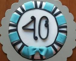 40th birthday cakes for guys