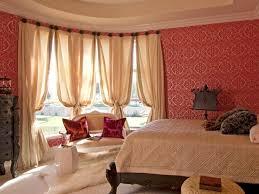 Curtains With Red Elegant Romance Interior Design Bedroom Interior Designs Aprar