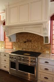 Cooktop Hoods Decor Using Custom Range Hoods For Appealing Kitchen Decoration