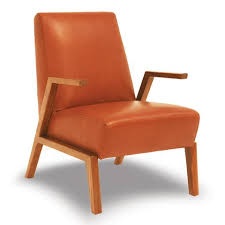 Tan Leather Accent Chair Living Room Chairs