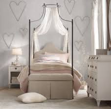 Sheer Bed Canopy Sheer Belgian Linen Bed Canopy Panels Set Of 2