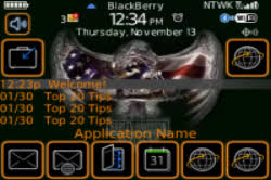 themes blackberry free download free blackberry curve gemini theme collection free applications